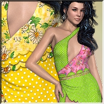 AM: Lovely for Sequin-Club-Dress 3D Figure Essentials Angelmoon