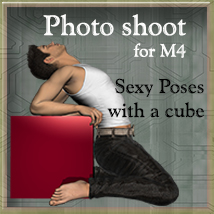 Photo Shoot for M4 3D Figure Assets Leije