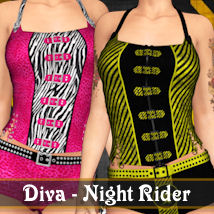 Diva for Night Rider 3D Figure Essentials ANG3L_R3D