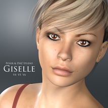 Giselle for V4, V5 & V6 3D Figure Essentials adamthwaites