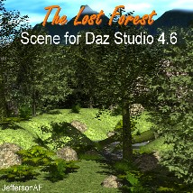 The Lost Forest 3D Models JeffersonAF