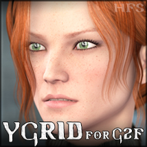 HFS Characters: Ygrid for G2F 3D Figure Assets DarioFish