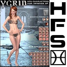 HFS Characters: Ygrid for G2F image 4