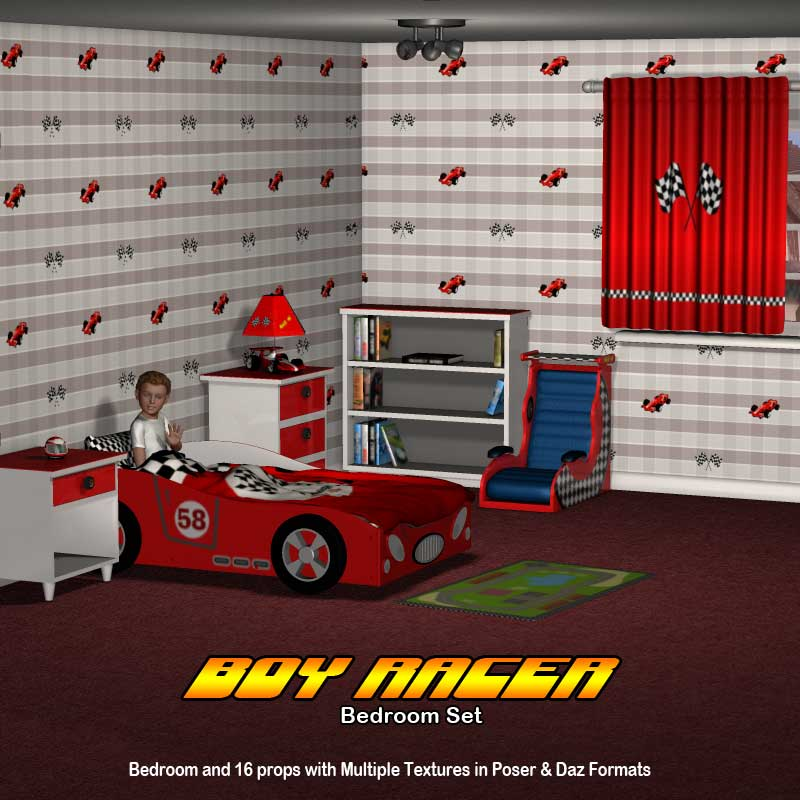 Bedroom Boy Racer