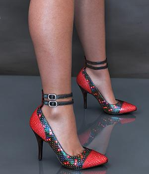 NYC Collection: Ankle Strap Pumps 3D Figure Essentials 3DSublimeProductions