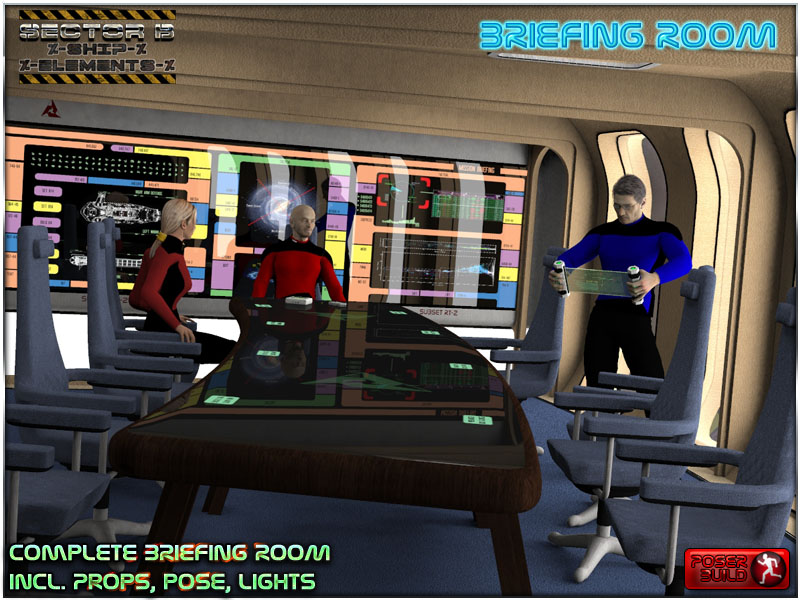 Ship Elements B6: Briefing Room