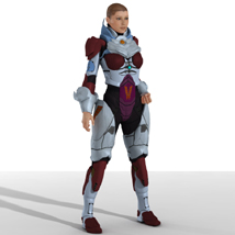 VXM Armor (V4) (for Poser) 3D Figure Assets 3D Models Legacy Discounted Content VanishingPoint
