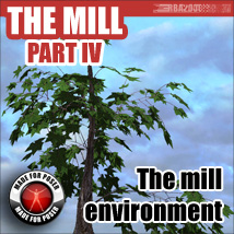 The mill - part IV 3D Models 3D Figure Essentials RBA2000