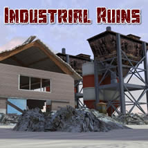 Industrial Ruins 3D Models dexsoft-games