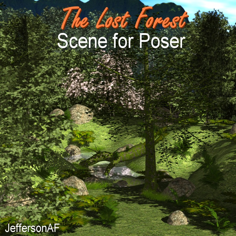 The Lost Forest for Poser