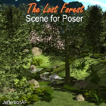 The Lost Forest for Poser 3D Models JeffersonAF