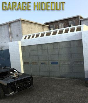 Garage Hideout 3D Models Imaginary_House