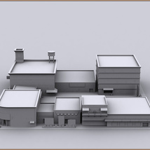 Movie Sets, Low Poly 09 image 9