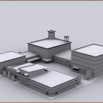 Movie Sets, Low Poly 09 image 10