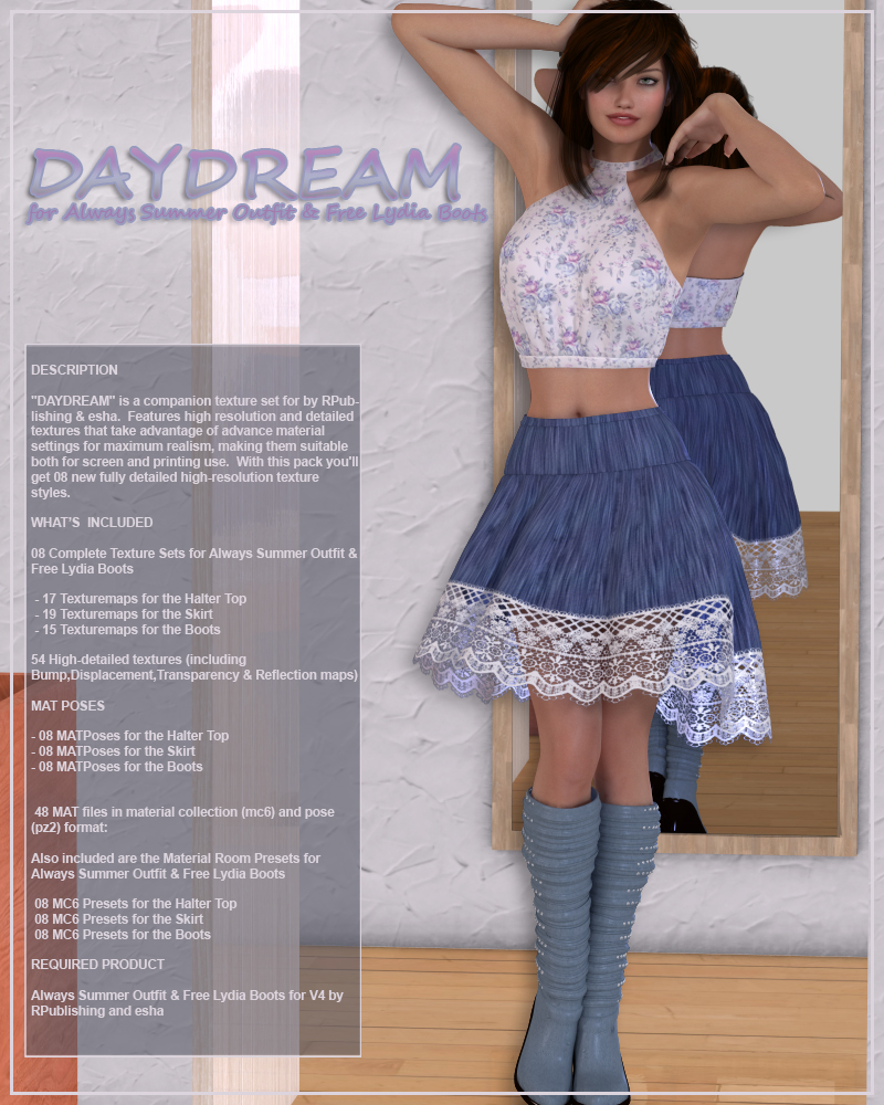 DAYDREAM for Always Summer Outfit & Free Lydia Boots