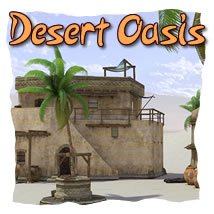Desert Oasis 3D Models dexsoft-games
