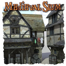 Medieval Slum 3D Models dexsoft-games