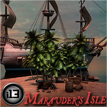 i13 Marauder's Isle 3D Models Software ironman13
