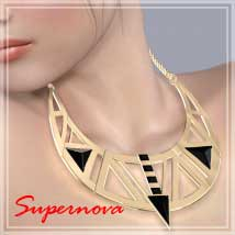 BijouxAnew Assymetry 3D Figure Essentials -supernova-