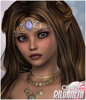 Candy Riluaneth 3D Figure Essentials Sveva