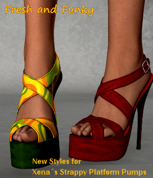 Fresh and Funky for Strappy Platform 3D Figure Essentials Karth