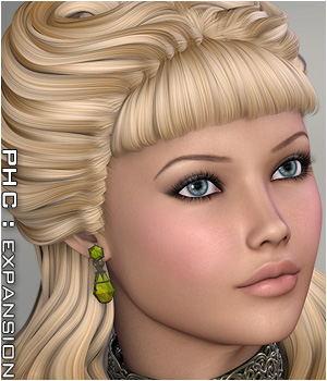 PHC : Diamond Darling 3D Figure Essentials P3D-Art
