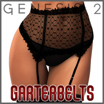 SuperHose Infinite Garterbelts and Straps for Genesis 2 Female(s) 3D Figure Assets 3D Models outoftouch