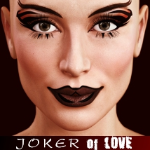 JOKER of LOVE 3D Figure Assets odnajdy