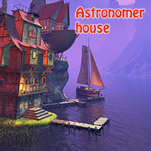 Astronomer house 3D Models 1971s
