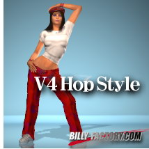 V4 Hop Style 3D Figure Essentials billy-t