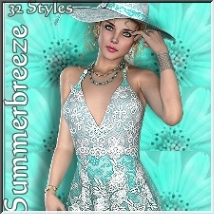 AM: Summerbreeze- 32 Styles for Sommer of Love  3D Figure Essentials Angelmoon