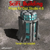 SciFi_Building 3D Models JeffersonAF