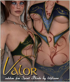 Valor for Spirit Blade 3D Figure Essentials Sveva