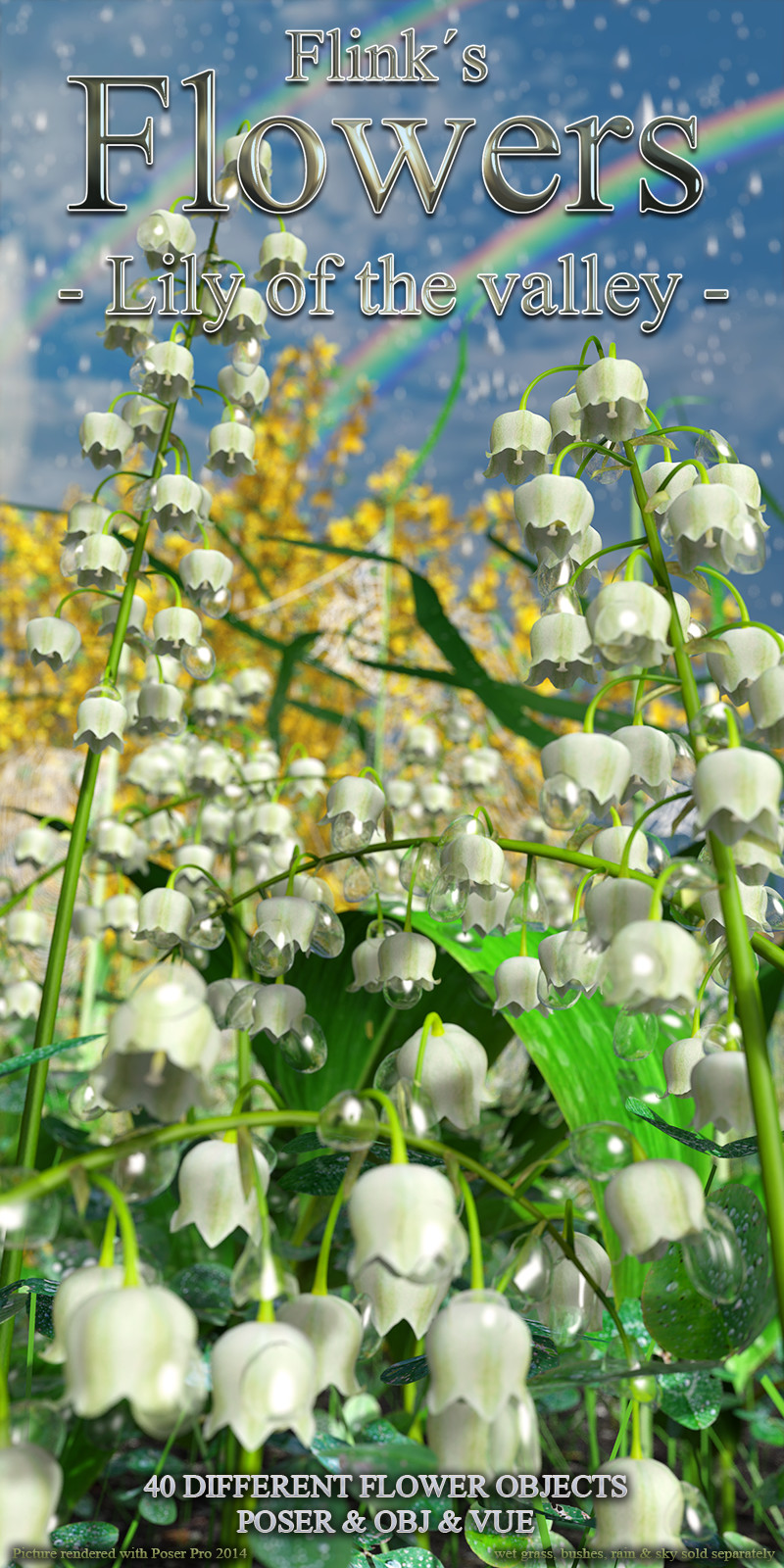 Flinks Flowers - Lily of the valley