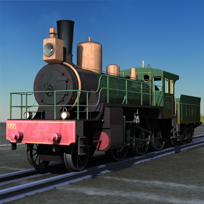 Train WWI Ng Series (for Poser) by Digimation_ModelBank