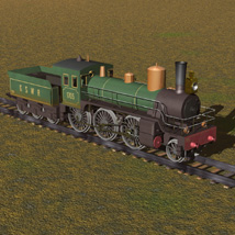 Train WWI Ng Series (for Poser) image 3