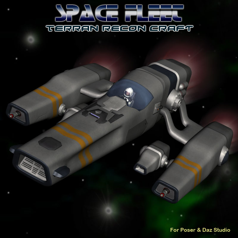 Space Ship Terran Recon Craft