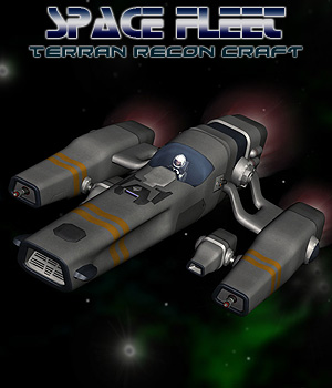 Space Ship Terran Recon Craft 3D Models Simon-3D