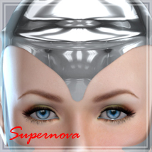 Silicon Planet 3D Figure Essentials -supernova-