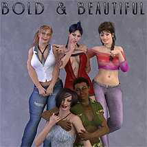 Bold & Beautiful 3D Figure Essentials lexana