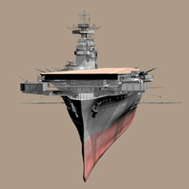 MS14 USS Yorktown 3D Models London224