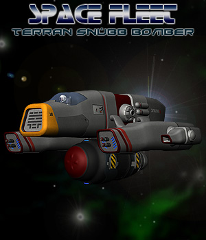 Space Ship Terran Snubb 3D Models Simon-3D