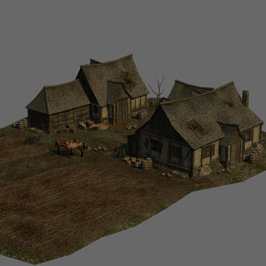 medieval farmhouse by lordgood - photo #15