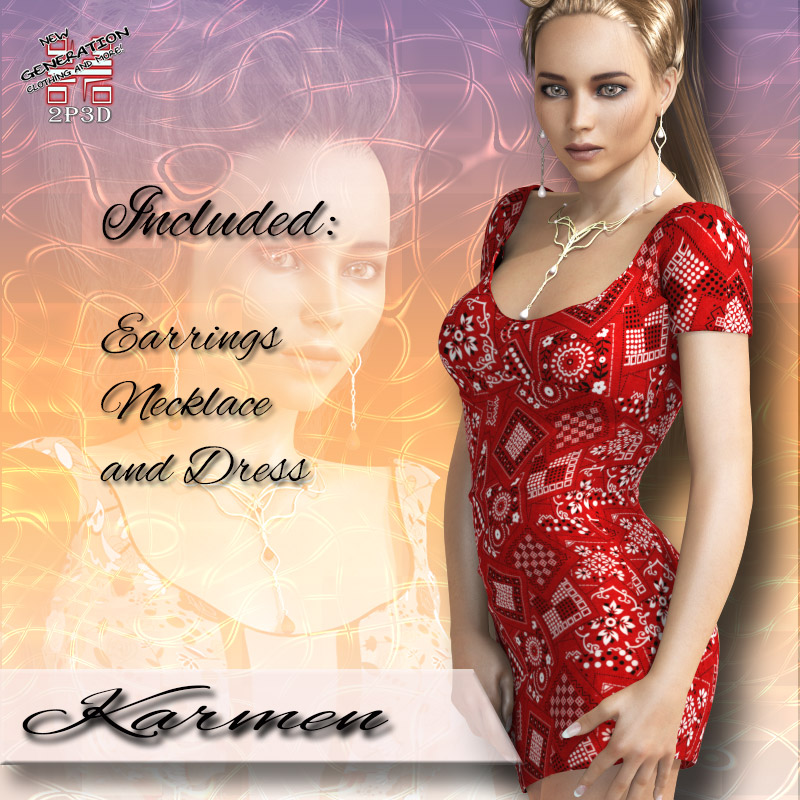 2P3D Karmen City Fashion