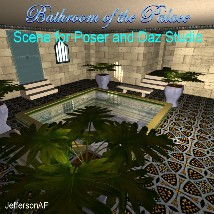 Bathroom of the Palace 3D Models JeffersonAF