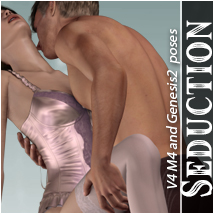 Seduction 3D Models 3D Figure Essentials halcyone