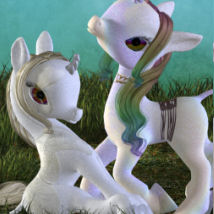 DA-Offspring for The Unicorn: Baby 3D Models DarkAngelGrafics