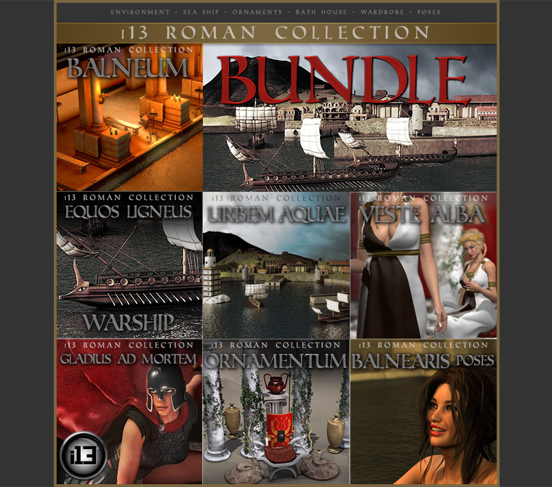 i13 Roman Collection Bundle