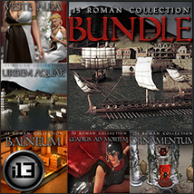 i13 Roman Collection Bundle 3D Models 3D Figure Assets ironman13