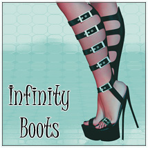 Infinity Boots 3D Figure Essentials SynfulMindz